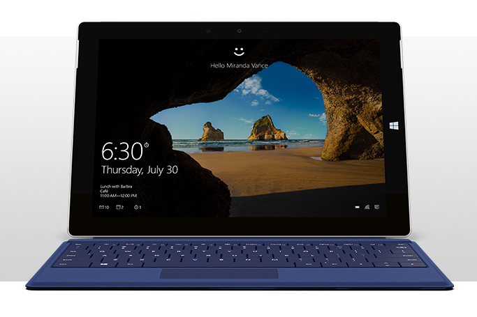 Surface 3 with Type Cover