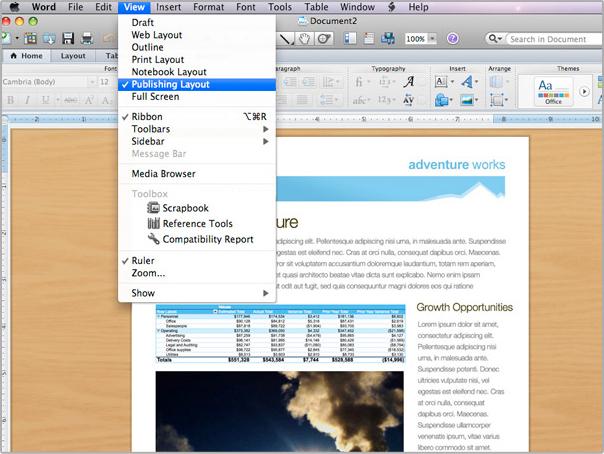 Microsoft Word for Mac 2011 | SoftSolutionWorks com