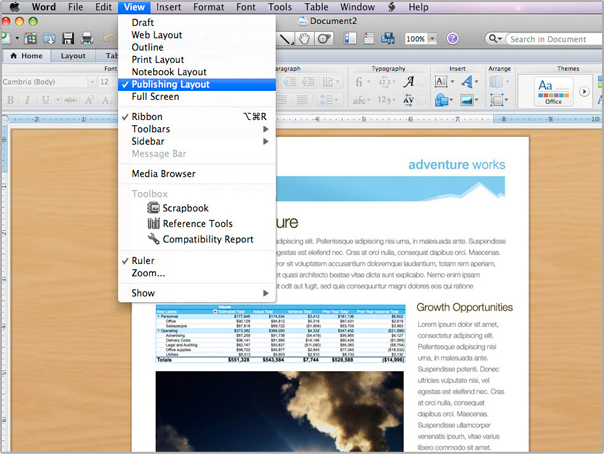 microsoft word for mac 2011
