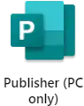Publisher (PC only)